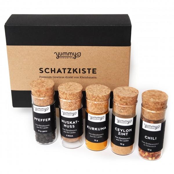 """Gewürzbox """"Schatzkiste"""""""